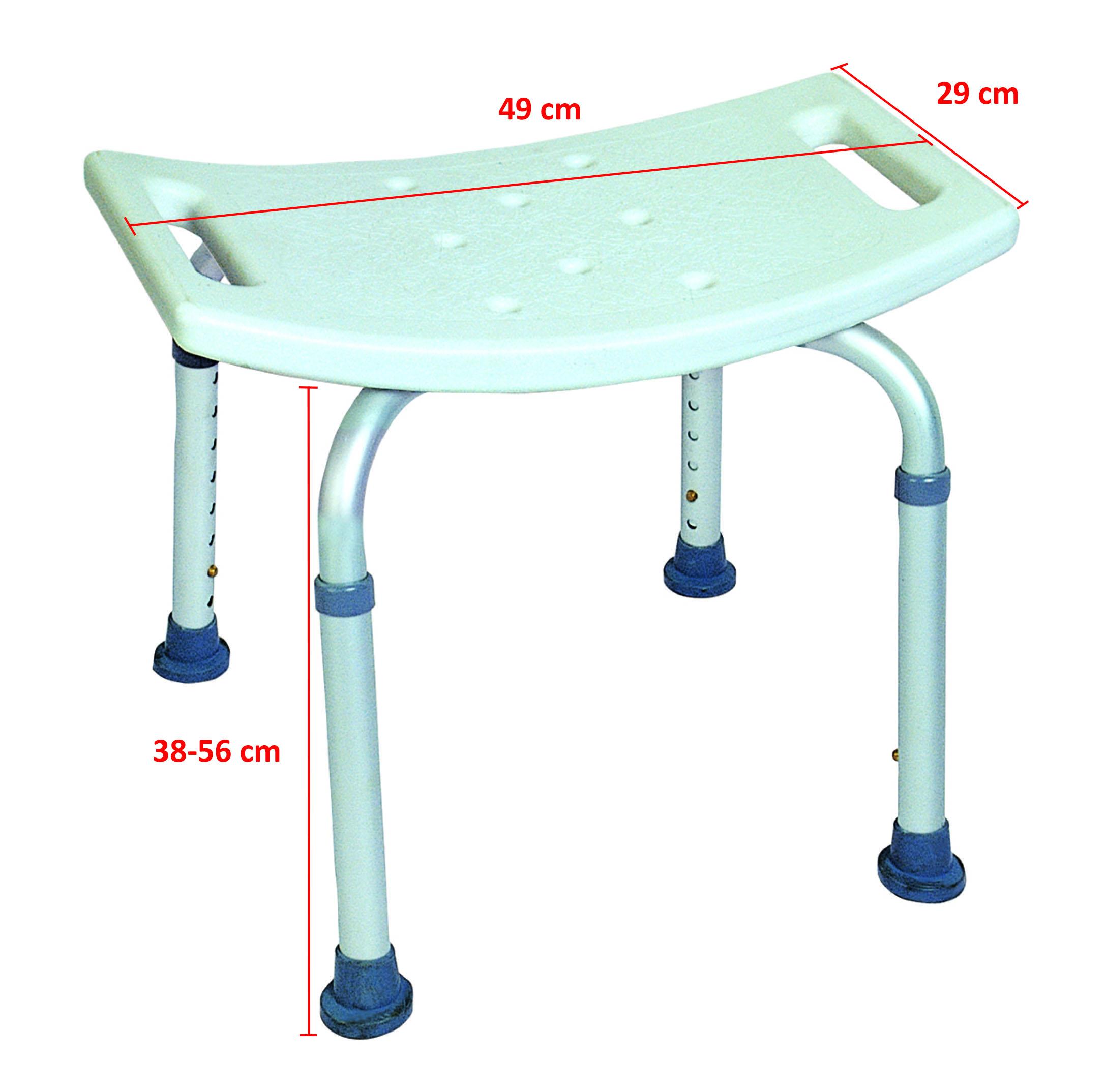 MU-5450 Badkamer kruk / stoeltje – Obbomed Hulpmiddelen Senioren