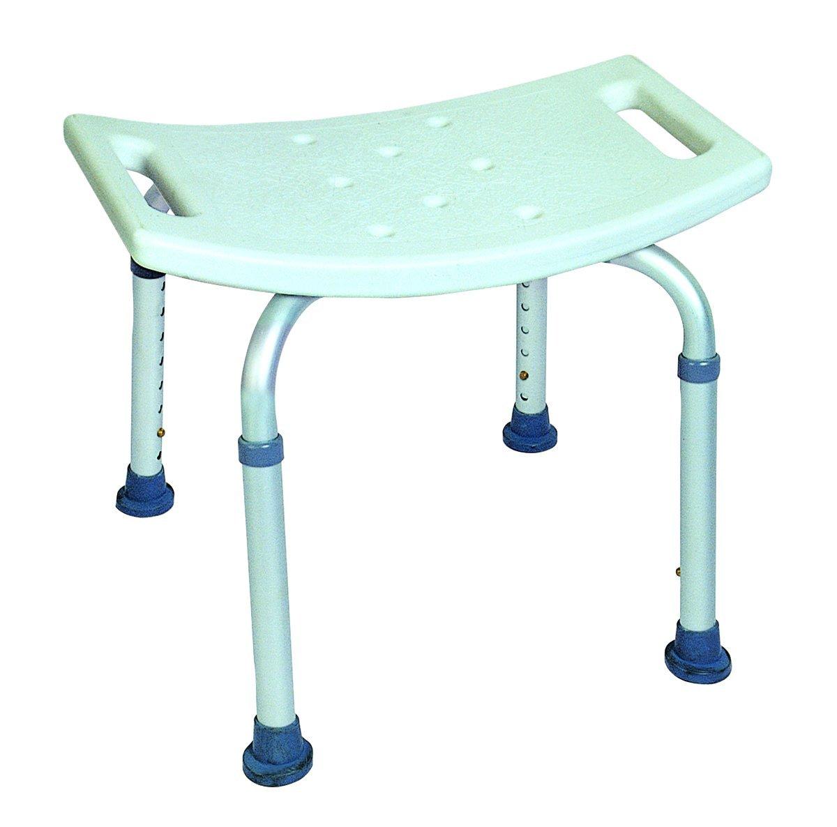 MU-5650 Badkamer stoel met rugleuning – Obbomed Hulpmiddelen Senioren